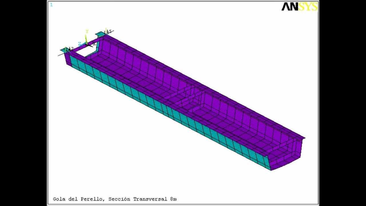 abaqus tutorial suspension bridge