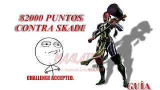 Marvel: Avengers Alliance - Temporada 2, Capítulo 7: Derrotar a Skadi con 82000 puntos
