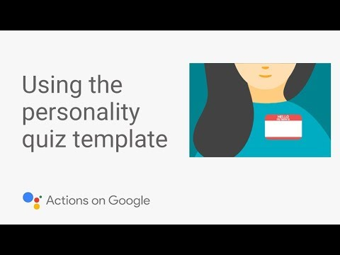 Build a Personality Quiz for the Google Assistant with No Code