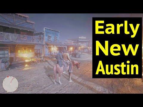 Early New Austin in Red Dead Redemption 2 (RDR2): Otis Miller's Revolver
