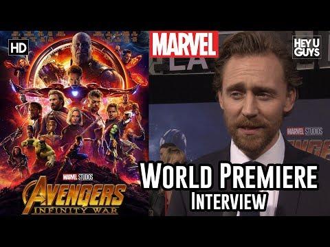 Tom Hiddleston Loki  Avengers Infinity War World Premiere
