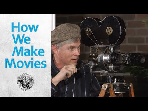 HWMM: The Moving Picture Co. 1914 - Antique Moving Camera Demo