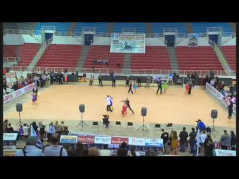 Salonika Open 2014 Youth Latin 5 Dance Ημιτελικός