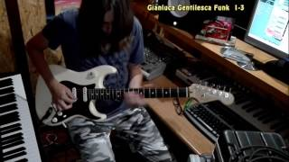 gianluca gentilesca jamming with a cbg funk backing track