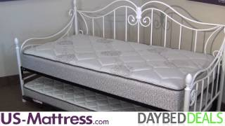 Fashion Bed Group Stephanie Daybed With Free Mattress
