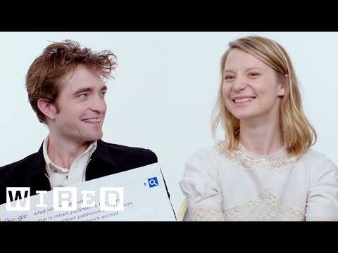 Robert Pattinson & Mia Wasikowska Answer the Web's Most Searched Questions  WIRED