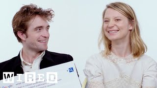 Robert Pattinson & Mia Wasikowska Answer the Web