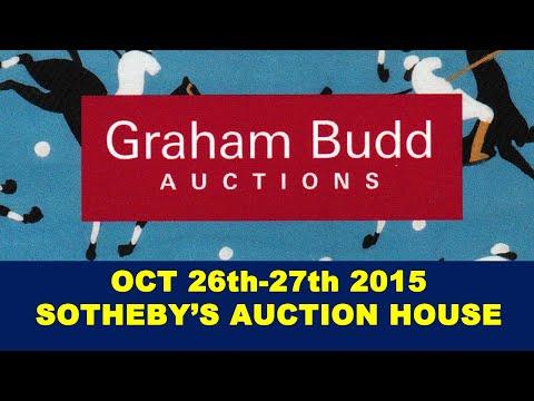 Graham Budd Auctions Sports Memorabilia Sale at Sothebys, London Oct 2015