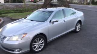 2010 2011 2012 lexus es350 beater pov walkaround test drive owner review