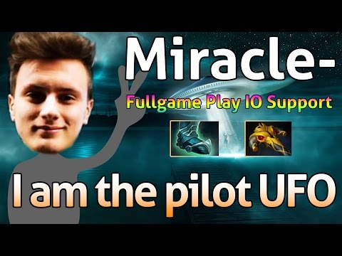 Miracle- Dota 2 : Guide - Professional IO - [Support] I am the pilot UFO.