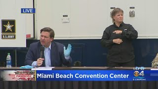 WEB EXTRA: Florida Governor Ron DeSantis Holds Press Conference In Miami Beach