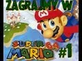 -1- Let's Play Super Mario 64 (PL) (1996 - N64) - Czarna Kula