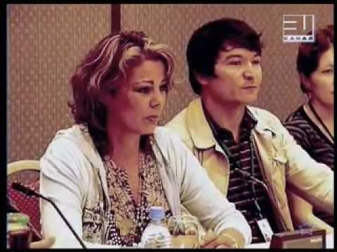 Sandra - Television, Press Conferance, 31 Channel Kazakhstan 2007