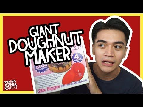 Download Youtube: NBAPK#5 GIANT DOUGHNUT MAKER // Luigi Pacheco