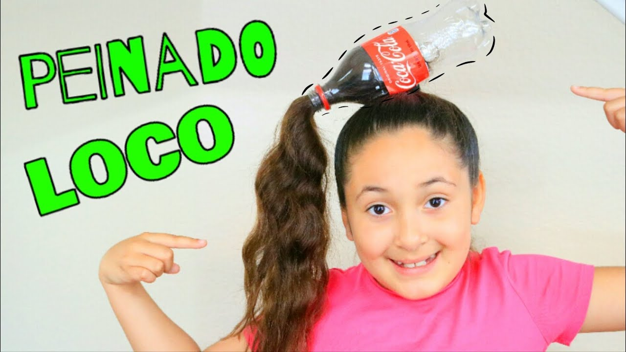 Peinado Loco Botella De Soda Tutorial Susana Ortiz Youtube
