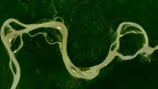 The Amazon river is BIGGER than you think.