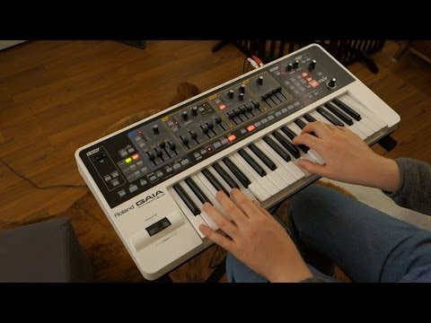 Jam session: Pachabel's Canon in D played on Roland Gaia SH-01 Synthesizer by Geoff Peters