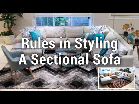 Rules In Styling A Sectional Sofa | MF Home TV