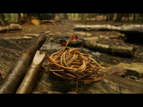 How To Make Natural Cordage From Cedar Root