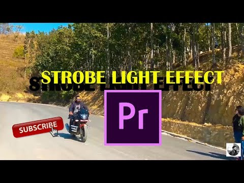 How To Strobe Effect (Music Video Effect)  Premiere CC Tutorial