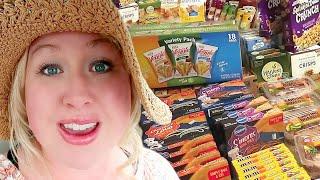 UNBELIEVABLE DEALS on 😍LARGE FAMILY GROCERIES | Sharp Shopper Discount Grocery Haul