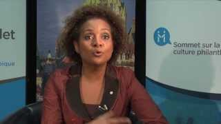 La culture philanthropique selon la très honorable Michaëlle Jean