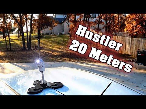 "Hustler Antenna RM-20 ~ Tram 5"" Magnet Mag Mount Mobile Ham Radio"