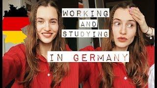 Учеба и работа в Германии VLOG