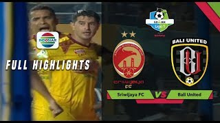 Sriwijaya FC (3) vs (2) Bali United - Full Highlights | Go-Jek Liga 1 Bersama Bukalapak