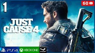 JUST CAUSE 4 Gameplay Español Parte 1 PC Ultra 4K 60fps | Español Latino | Prologo 1 Hora