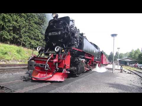 Travel into the Harz - Germany  (Reise in den Harz - Brocken) HD