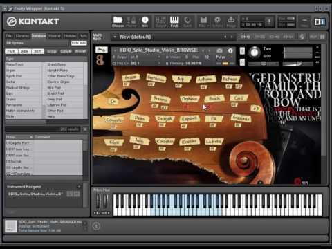 8dio studio Solo Violin Download