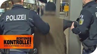 Festnahme im ICE: Polizei greift gegen Straftäter durch! | Achtung Kontrolle | kabel eins