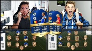 FIFA 17 TOTS SEARCH AND DISCARD BATTLE vs FIFAGAMING 😱😈🔥