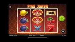 FIRE JOKER - Online Casino Game - 3 Slots