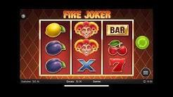FIRE JOKER - Online Casino Game - 3 Slots
