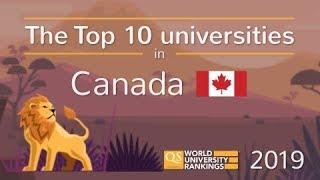 Meet Canada's Top 10 Universities 2019