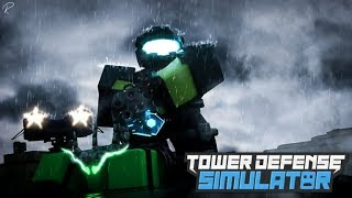 Roblox - [FROST BOSS] Tower Defense Simulator Beta | Live