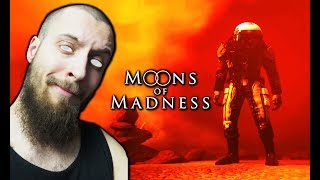 MOONS OF MADNESS ???? HORROR NA MARSIE! - Na żywo