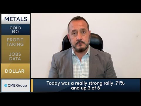August 7 Metals Commentary: Bob Iaccino