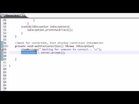 intermediate-java-tutorial---41---waiting-for-a-connection