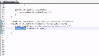 Intermediate Java Tutorial - 41 - Waiting for a Connection