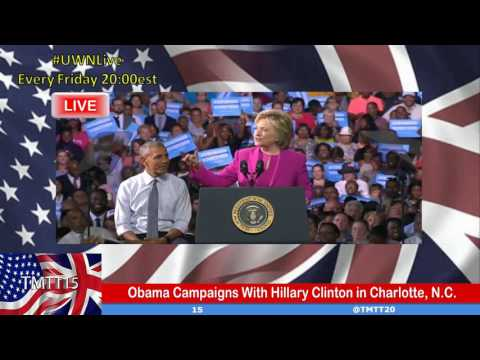 Obama Campaigns With Hillary Clinton in Charlotte, N.C.