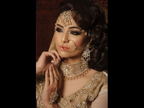 Indian Stani Asian Bridal Wedding Makeup Tutorial Vintage Style By Kulz You