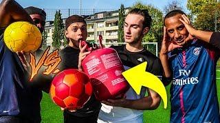 HELIUM FUßBALL CHALLENGE ! (besser als normaler Ball?)