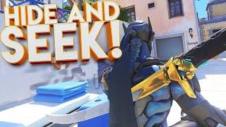 OVERWATCH HIDE & SEEK MINI GAME!!