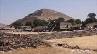 Pyramid of the Sun Teotihuacan Пирамида Солнца Теотиуакан