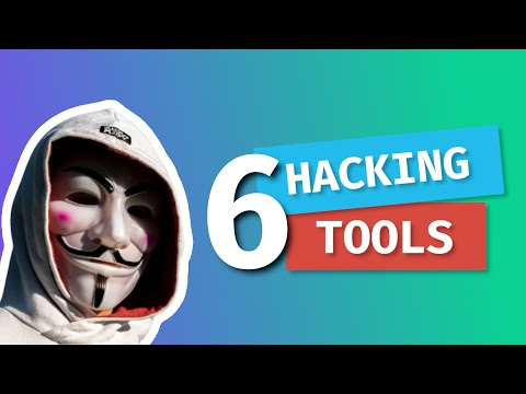 6 FREE Tools For Hackers (For Beginners)