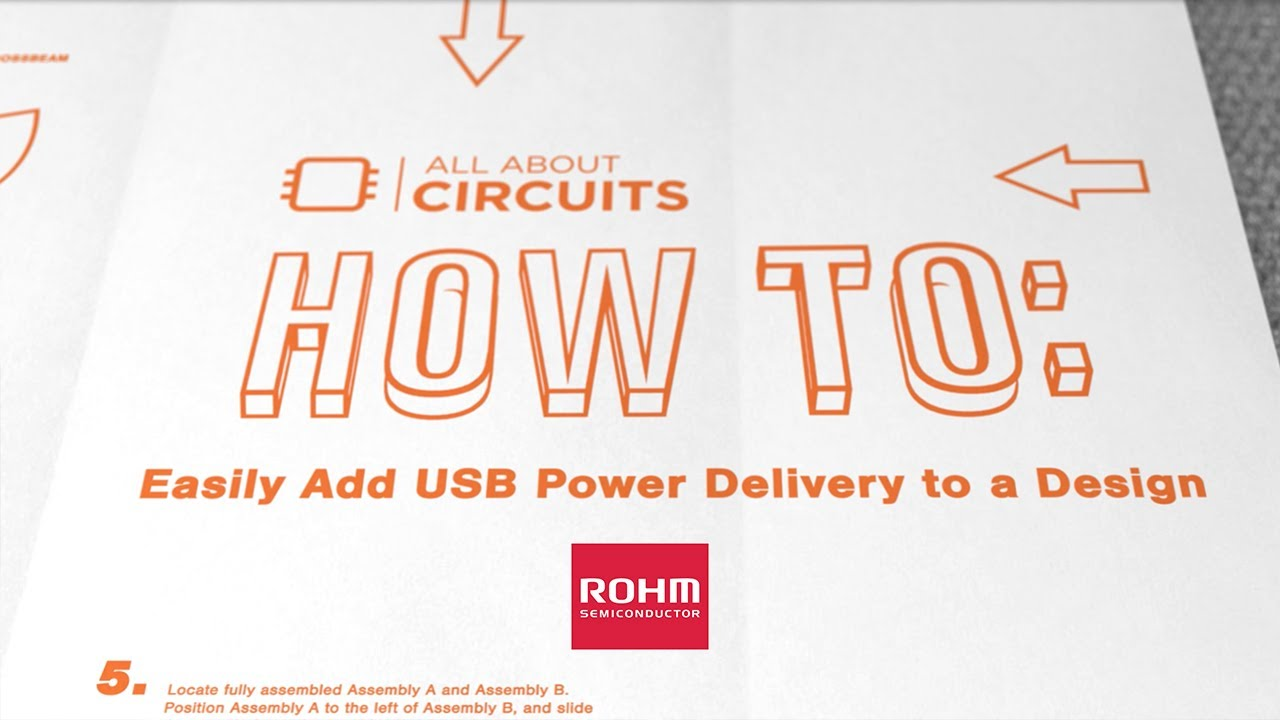 All About Circuits How To Easily Add Usb Power Delivery A Design Sinewavegeneratorwithdigitalcontrol Basiccircuit Circuit Rohm Semiconductor