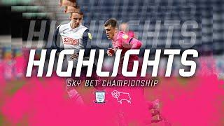 HIGHLIGHTS   Preston North End v Derby County